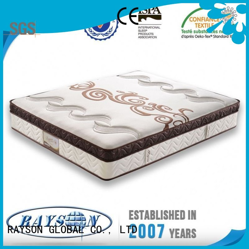 nattress woven visco direct cooling tufted bonnell spring mattress Rayson Mattress