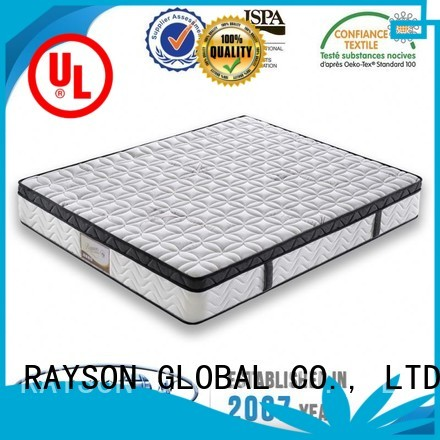 Rayson Mattress Brand flat floral cooling tufted bonnell spring mattress stylish factory