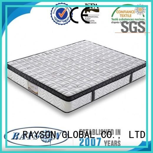 swiss double bonnell memory mattress firm for hotel Rayson Mattress