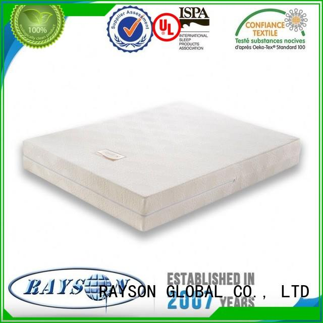 gel buying Rayson Mattress Brand best quality memory foam mattress factory