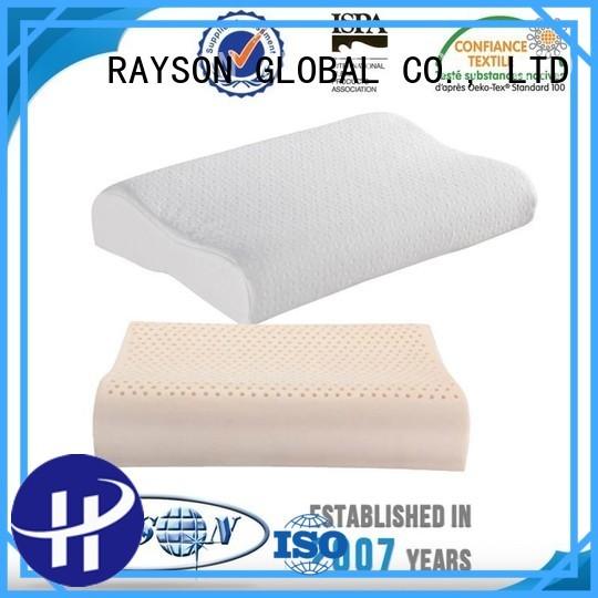 top items topper best latex pillow 2018 Rayson Mattress Brand