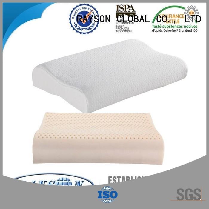 Rayson Mattress customized beautyrest latex pillow Suppliers