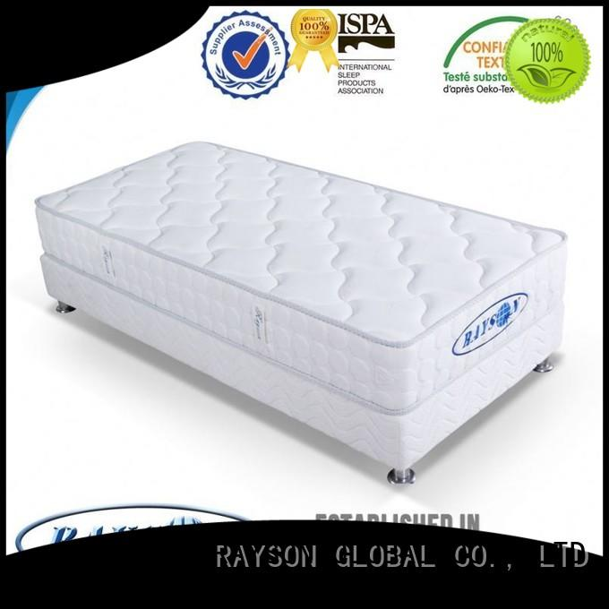 Rayson Mattress customized continuous coil spring mattress supplier for hotel