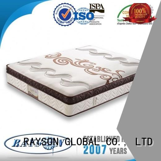 Rayson Mattress Brand size bonnell spring coil convoluted supplier