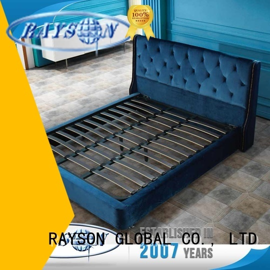 french bed base filler thickness on Rayson Mattress Brand