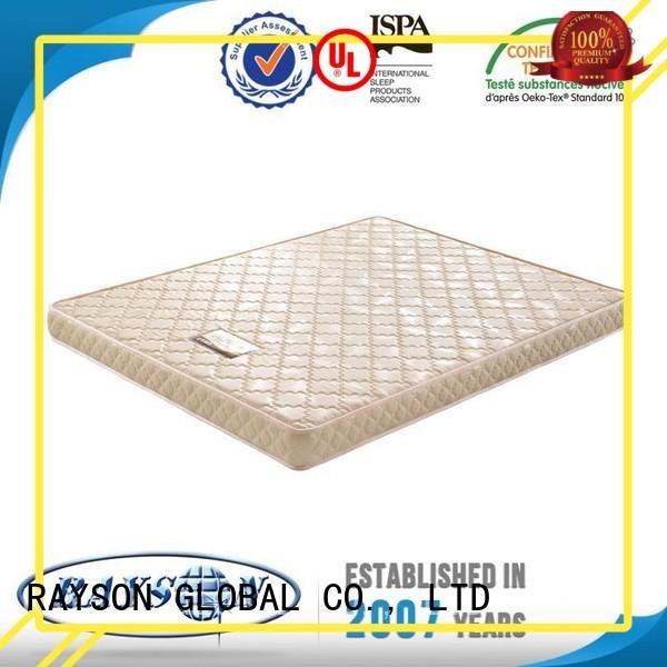 Rayson Mattress Brand queen sleepwell thicken flex foam mattress manufacture