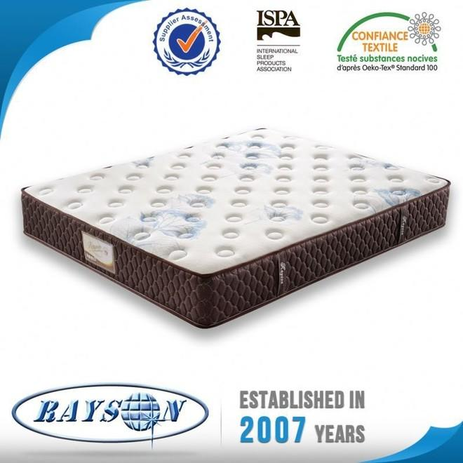 price pocket sprung memory foam bed luxurious for hotel Rayson Mattress