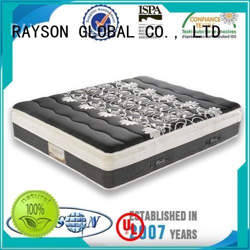Rayson Mattress sleep best firm pocketed coil mattress manufacturer for hotel