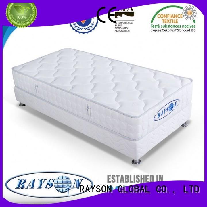 memory foam and coil spring mattresses stead sponge Warranty Rayson Mattress