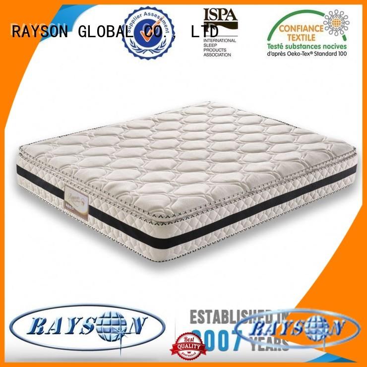 bonnel vacuum talalay pocket sprung and foam mattress material Rayson Mattress Brand