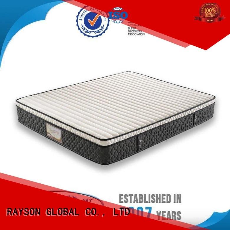 Rayson Mattress Brand agent zoned new pocket sprung mattress natural