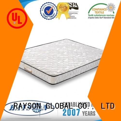 Wholesale discount pure bonnell spring mattress benefits Rayson Mattress Brand