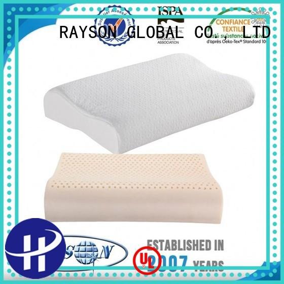 bedstock sound Rayson Mattress Brand best latex pillow 2018