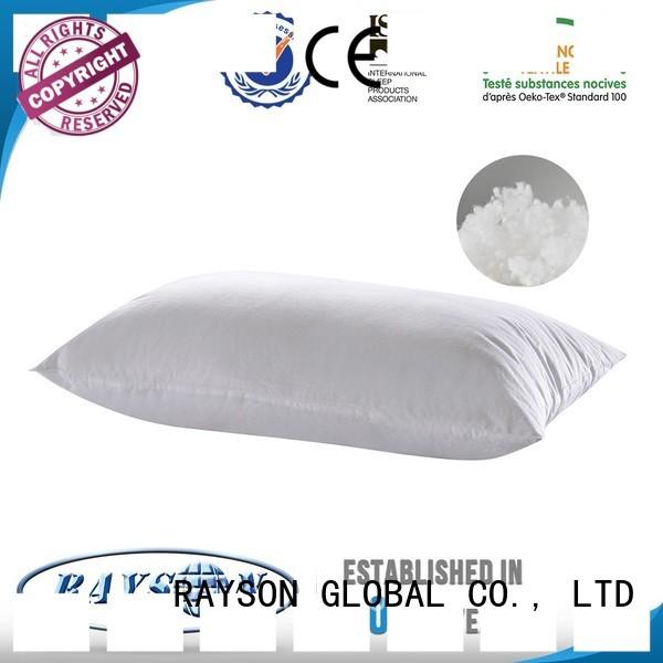 Rayson Mattress Custom yellow and grey pillows manufacturers