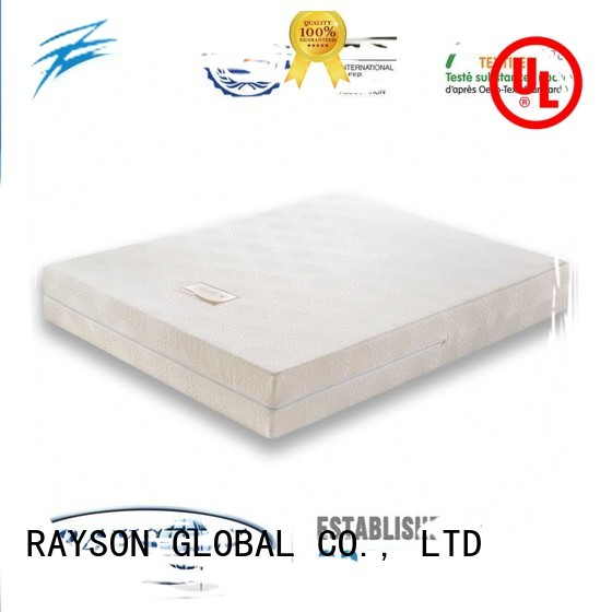 thai antislip traditional years memory foam mattress and bed Rayson Mattress
