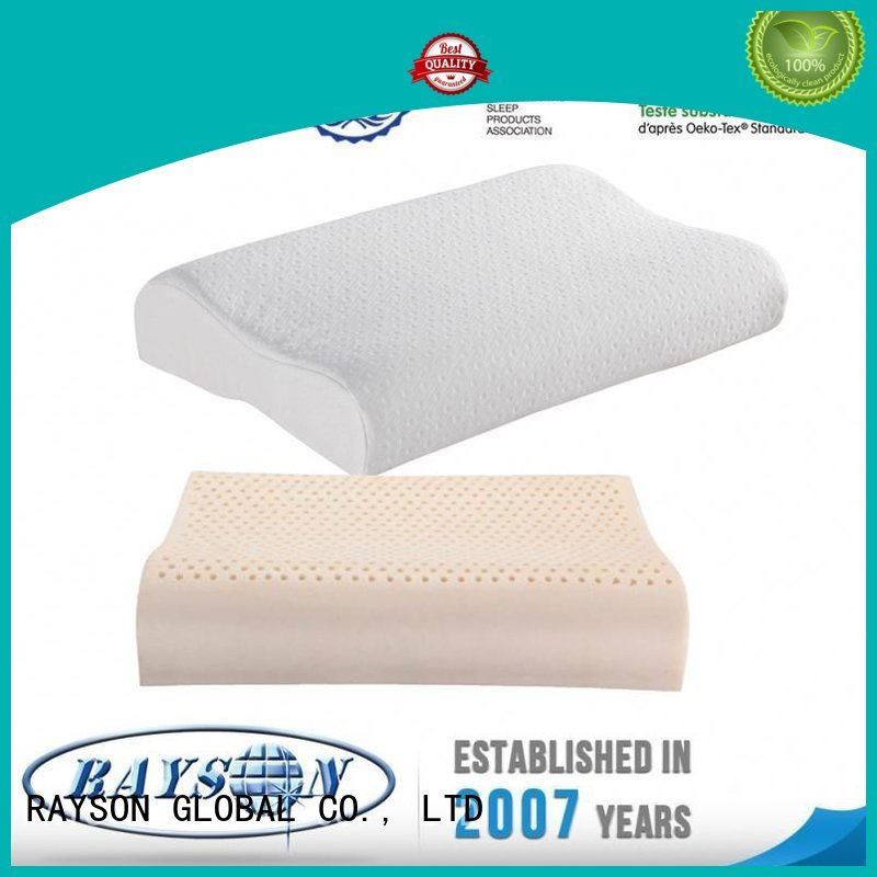 filling down removable best latex pillow 2018 guaranteed Rayson Mattress