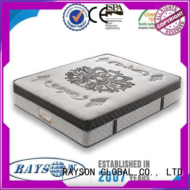 Quality Rayson Mattress Brand slow delivered 5 star hotel mattress