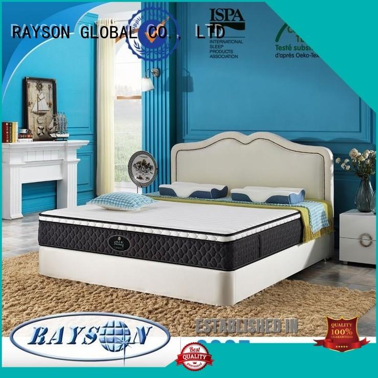 Rayson Mattress memory memory foam with pocket sprung mattress manufacturers
