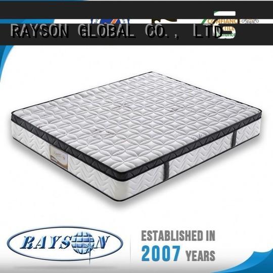 health 13.5 gauge bonnell spring mattress supplier for villa Rayson Mattress