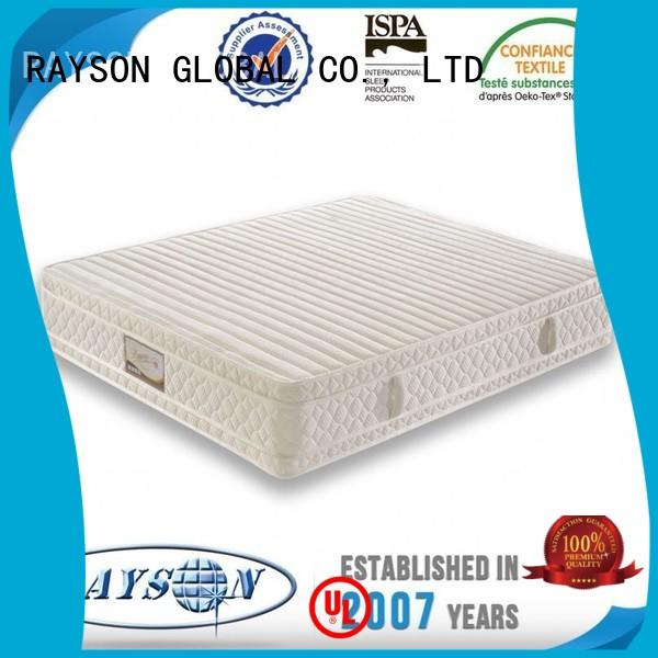 Custom moulded pattern 4 Star Hotel Mattress Rayson Mattress flower
