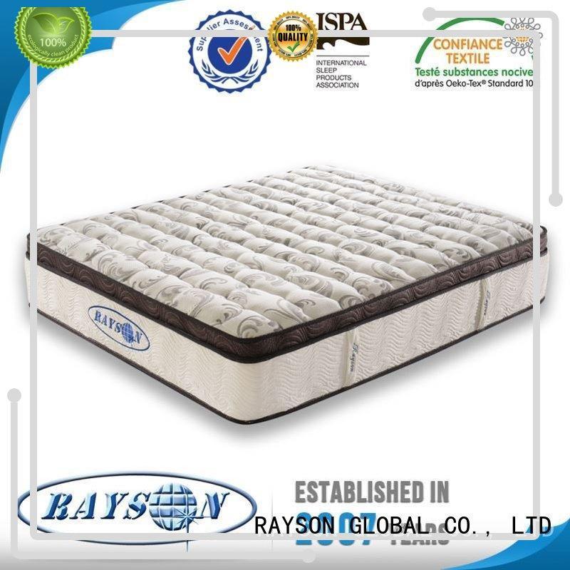 matterss low antidust 5 star hotel mattress Rayson Mattress Brand company