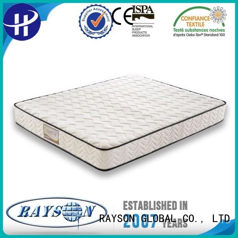 Rayson Mattress rolled vacuum seal memory foam mattress manufacturers