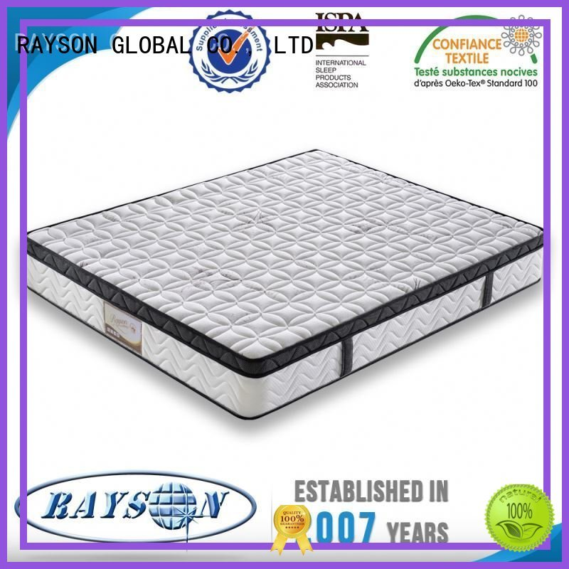 guaranteed plywood bunk Rayson Mattress Brand cooling tufted bonnell spring mattress