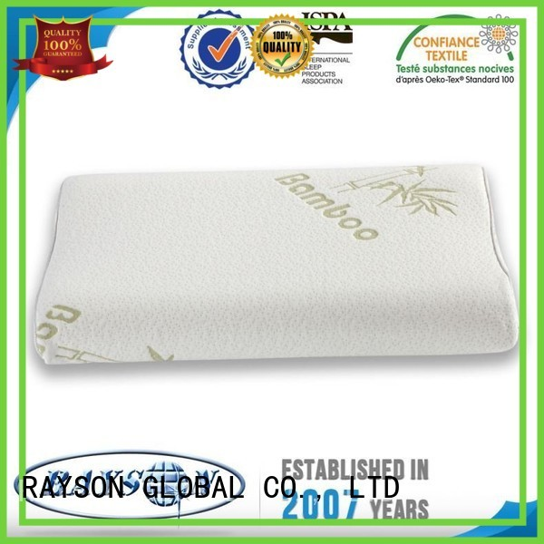 Hot nature cool contour memory foam pillow rspml7 Rayson Mattress Brand