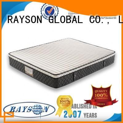Rayson Mattress Brand fireproof best shape top 10 pocket sprung mattress