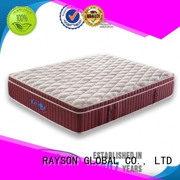 Rayson Mattress Brand reinforced apnea wooden star hotel mattress