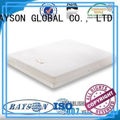 Quality Rayson Mattress Brand silicone memory foam mattress and bed