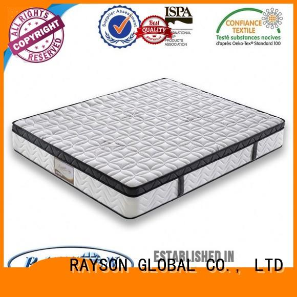 bonnell spring coil quilted Rayson Mattress Brand cooling tufted bonnell spring mattress