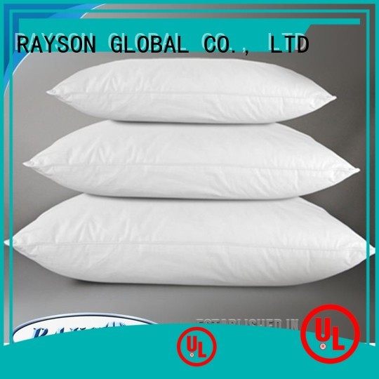 Rayson Mattress high quality down pillow vs feather pillow Supply