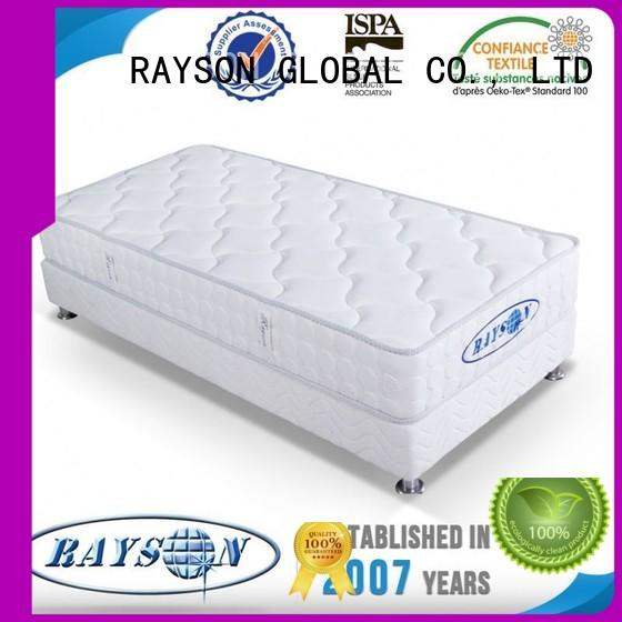 high quality continuous coil spring mattress series for villa