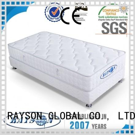 Wholesale function memory foam and coil spring mattresses Rayson Mattress Brand