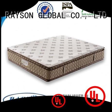 Rayson Mattress pillow pocket sprung mattresses online wholesale for hotel
