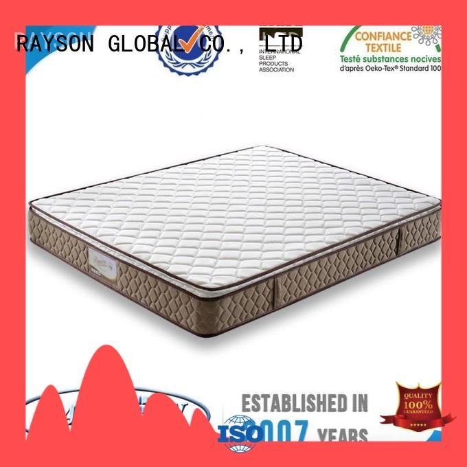 Rayson Mattress high quality pocket spring mattress company supplier for hotel