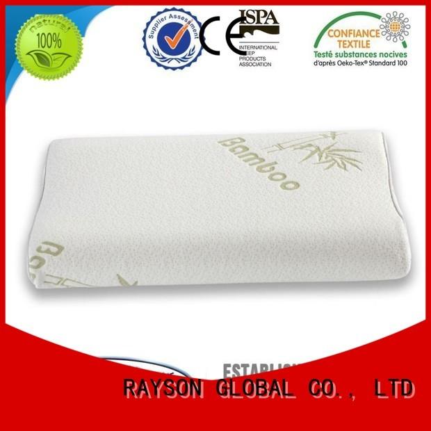 Rayson Mattress Brand compress collection cool contour memory foam pillow