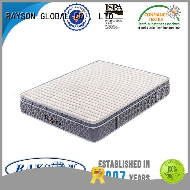 Rayson Mattress memory vacuum sealed mattress manufacturers