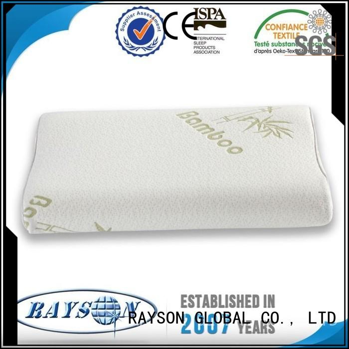 cool contour memory foam pillow well charcoal extra Rayson Mattress Brand