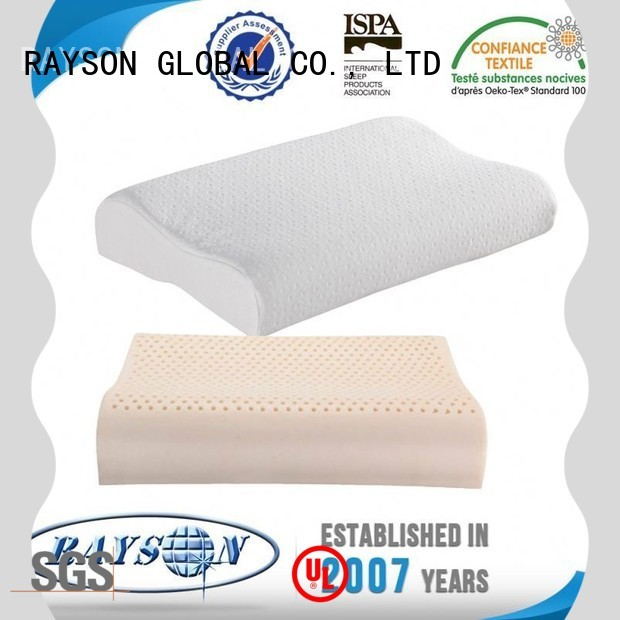 Rayson Mattress Custom restful nights latex foam pillow Supply