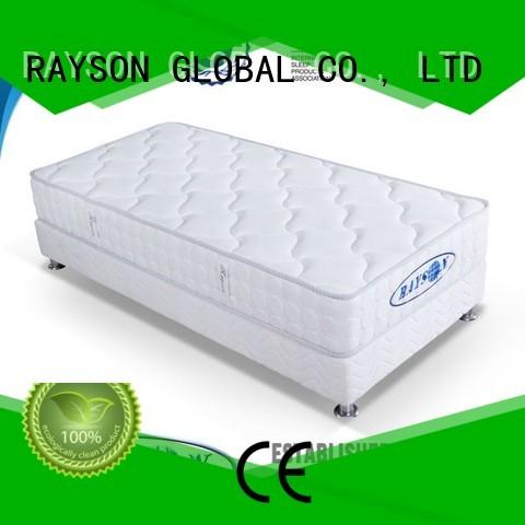 Rayson Mattress customized innerspring coil mattress series for villa