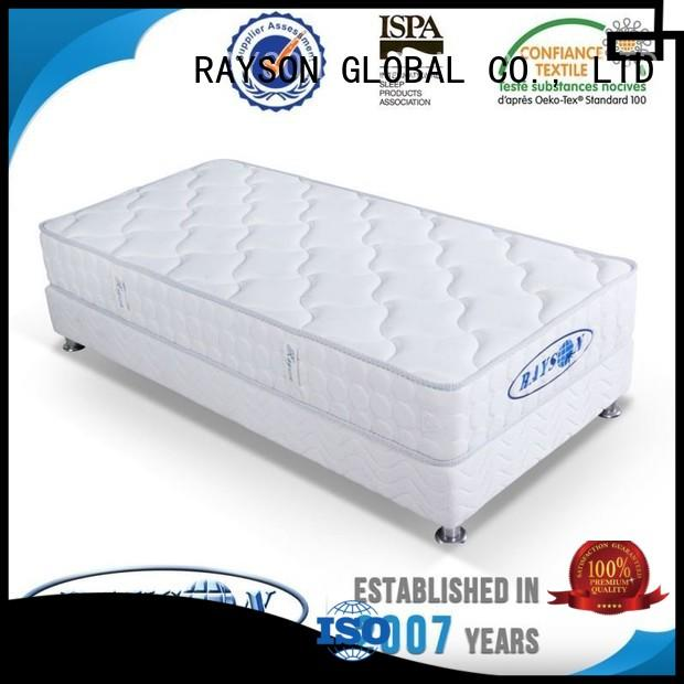 Rayson Mattress Brand compress packing memory foam and coil spring mattresses wadding supplier