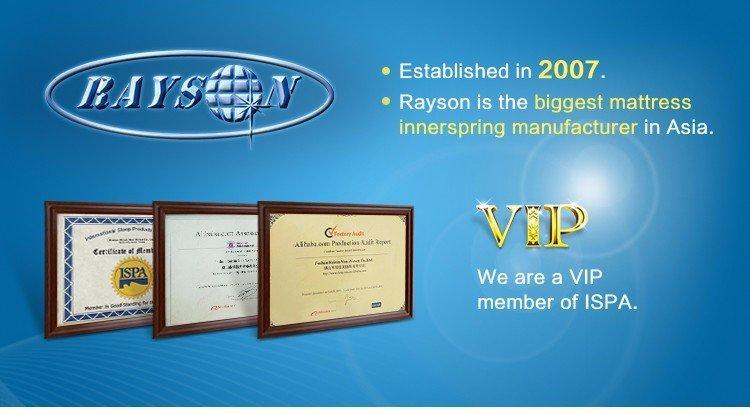 Rayson Mattress rolled vacuum seal memory foam mattress manufacturers-1