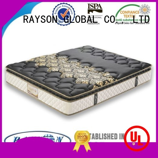 theraputic certificate Rayson Mattress Brand bonnell spring coil factory