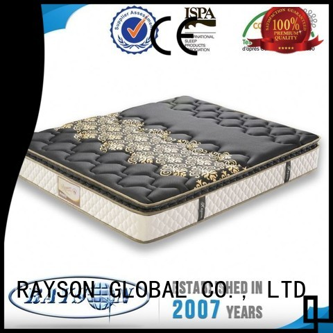 california pack bed Rayson Mattress Brand bonnell spring coil factory