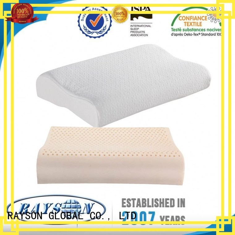 Rayson Mattress customized latex noodle pillow Supply