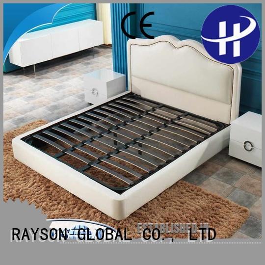 rectangle easy hotel bed base edge Rayson Mattress company