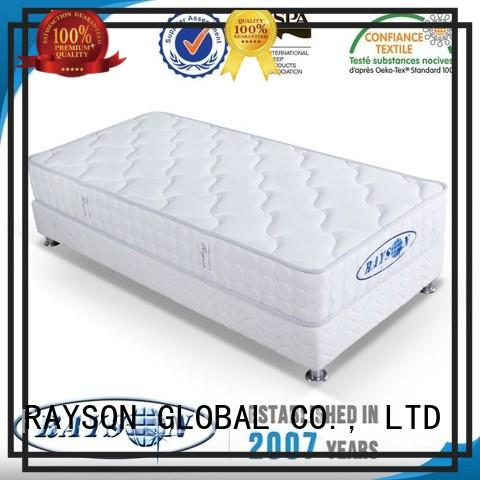 memory foam and coil spring mattresses flat 120cm bulk Rayson Mattress Brand continuous spring mattress