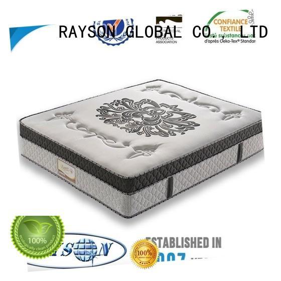 Rayson Mattress cheap prices queen size pocket sprung mattress supplier for villa
